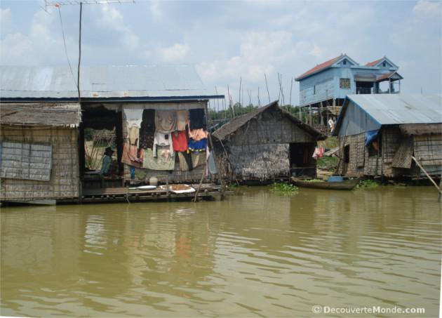 maisons flottantes mekong
