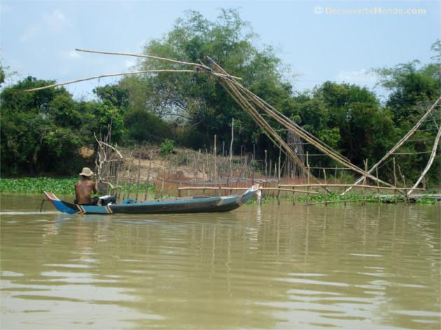 tonle sap lac cambodge