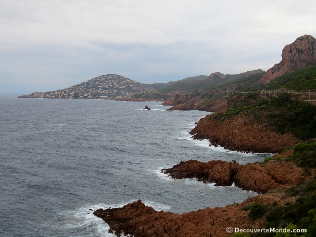 corniche d'or massif esterel
