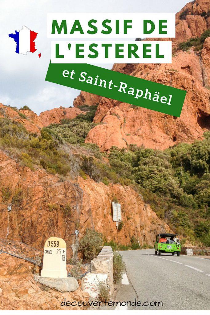 Massif de l' Esterel et Saint-Raphaël, joyau naturel de la côte d'Azur #esterel #france #coteazur