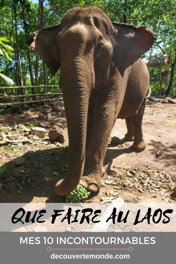 Que faire au Laos? Retrouvez ici la liste de mes 10 incontournables de choses à faire et à visiter au pays du million d'éléphants.