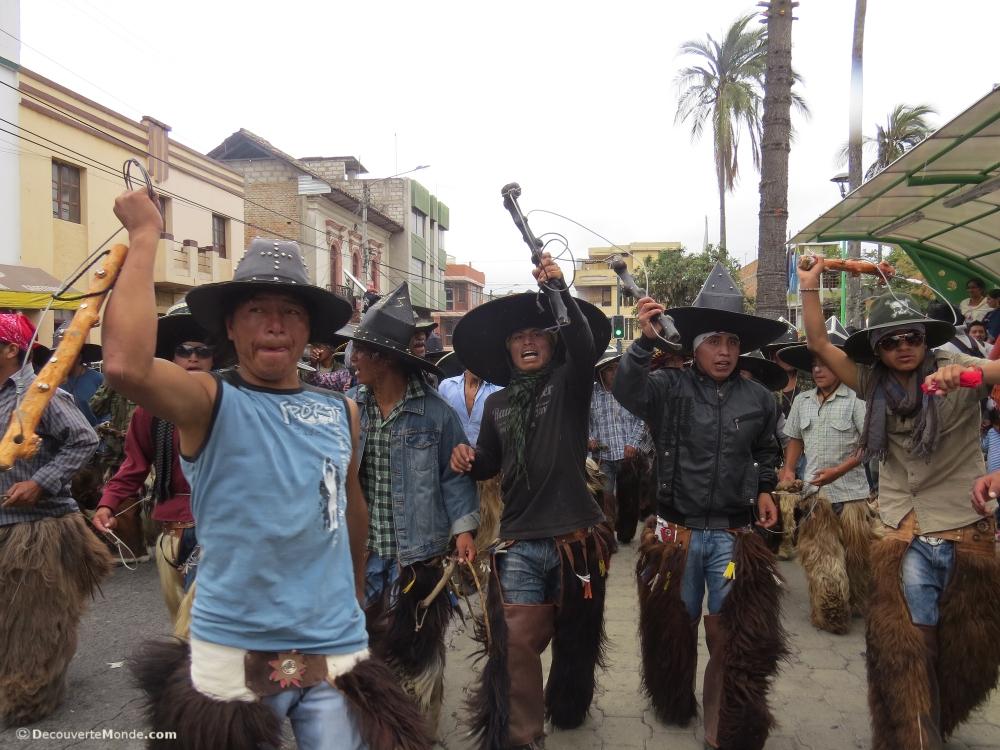 danse guerrière Cotacachi photo story