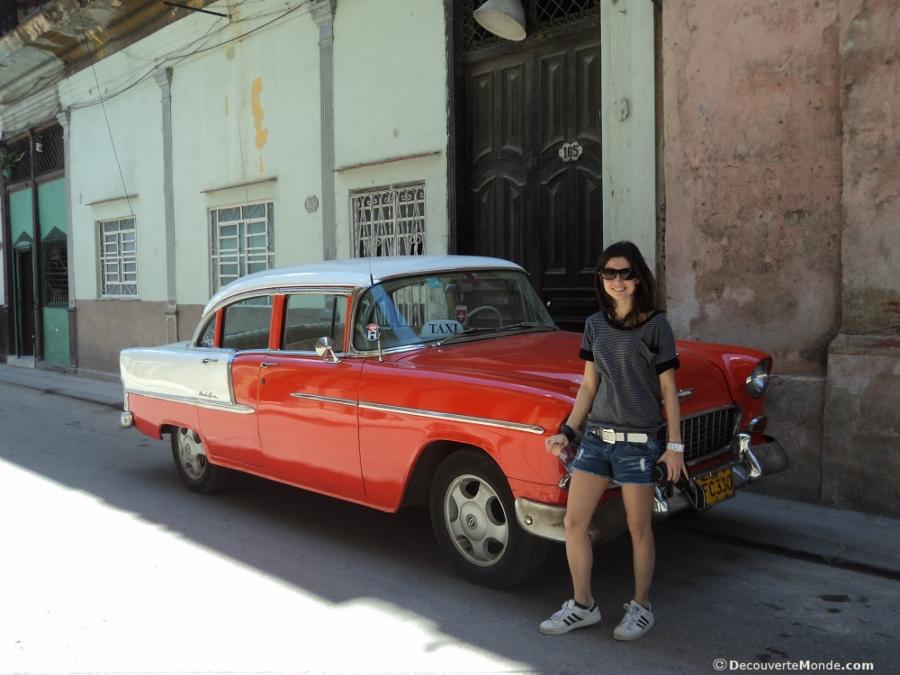 voiture américaine Cuba