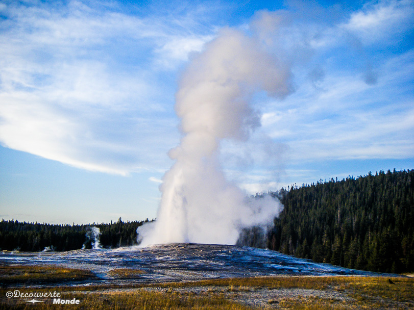 parcs nationaux USA Yellowstone