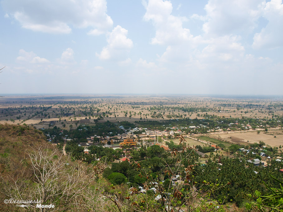 Phnom Sampov vue