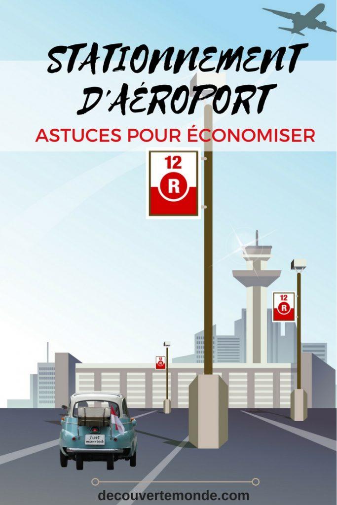 Retrouvez quelques astuces pour économiser sur le prix du stationnement d'aéroport lorsque vous partez en voyage. Voici l'article ici: https://www.decouvertemonde.com/stationnement-d-aeroport-astuces-pour-economiser