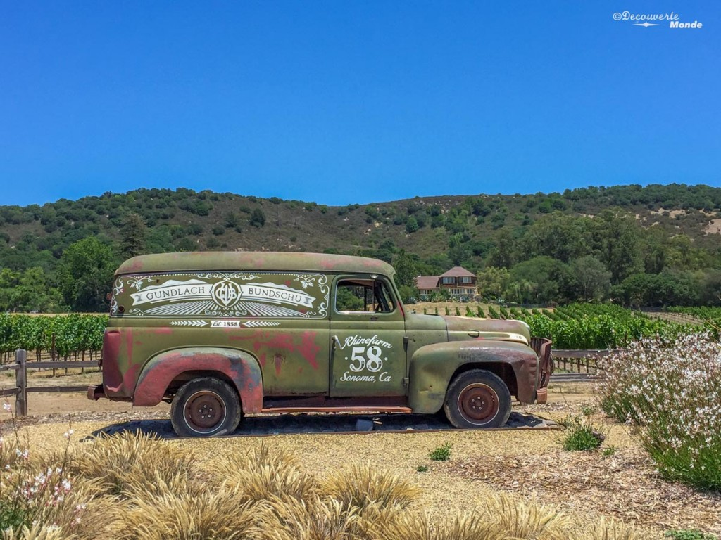 sonoma vin californie