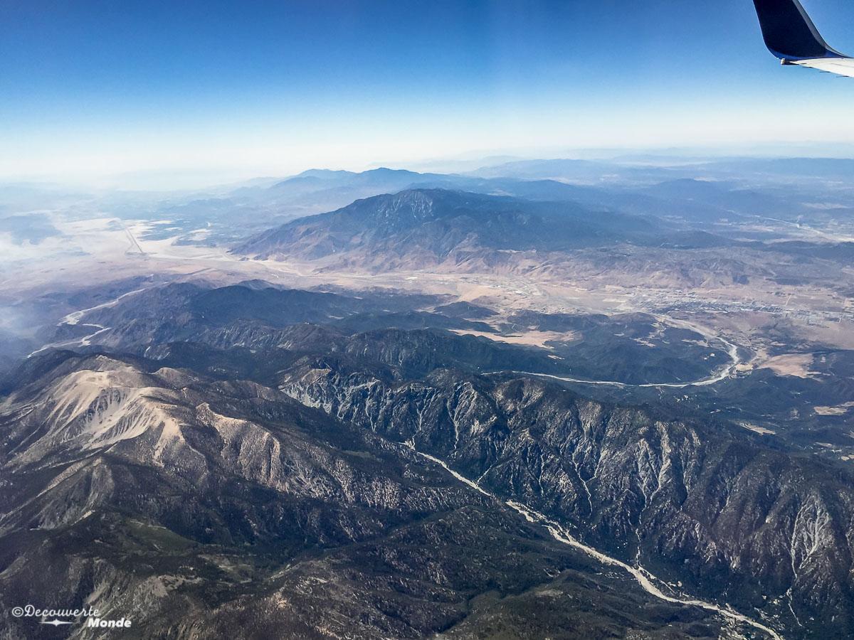 paysage avion