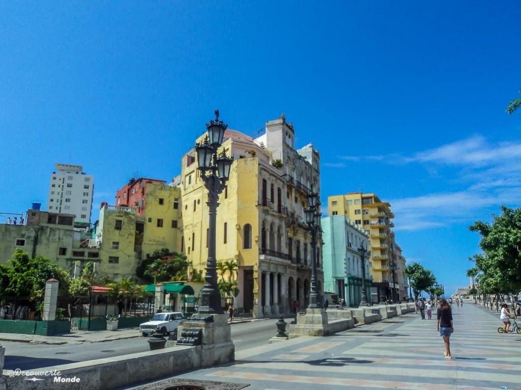 malecon que faire à La Havane