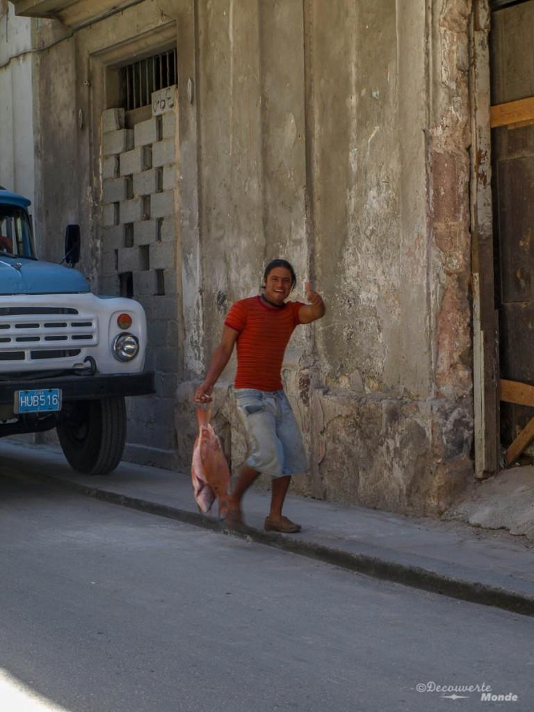 pêcheur La Havane Cuba