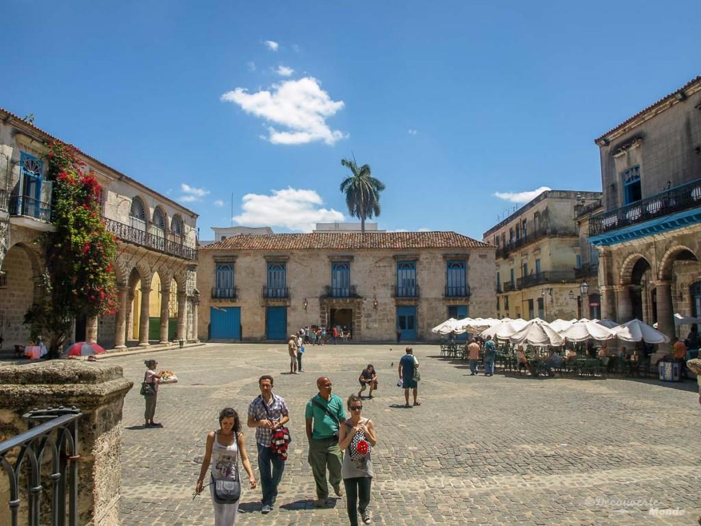place centrale La Havane