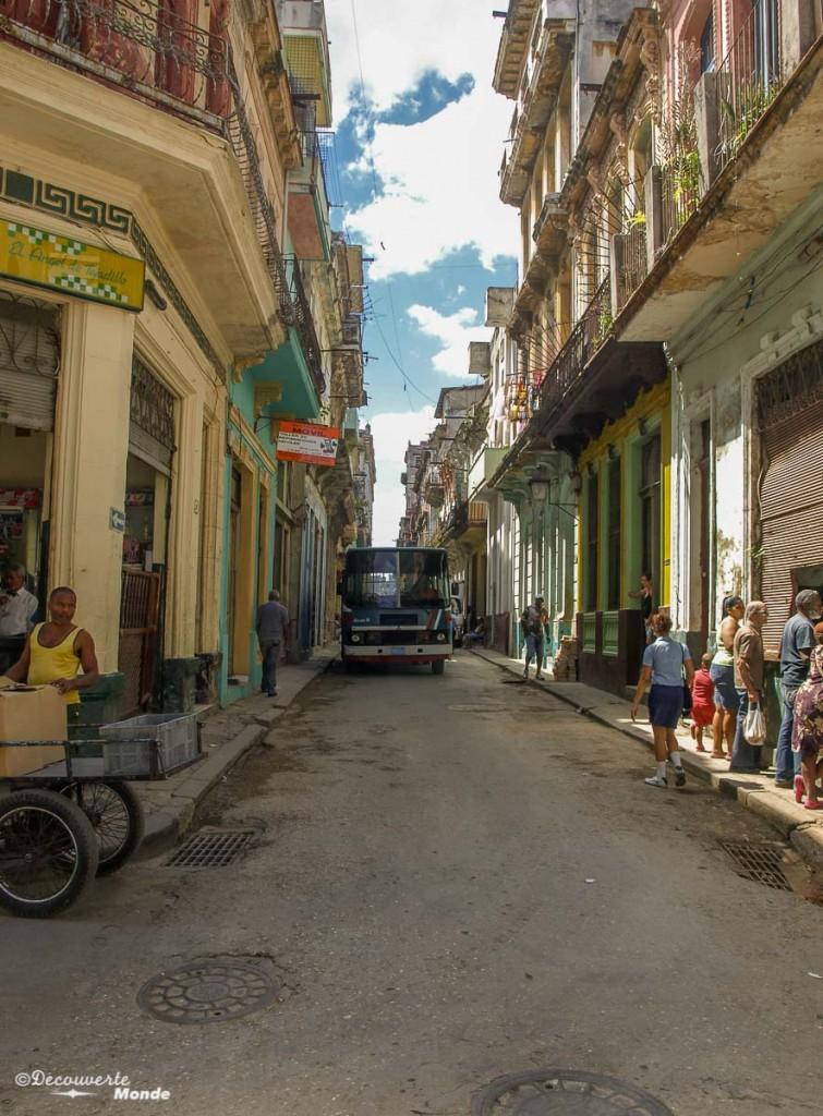 rue de La Havane Cuba