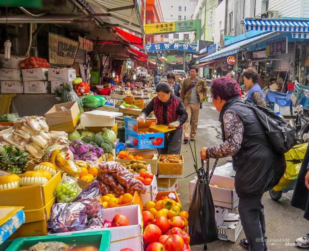 visiter une ville marché