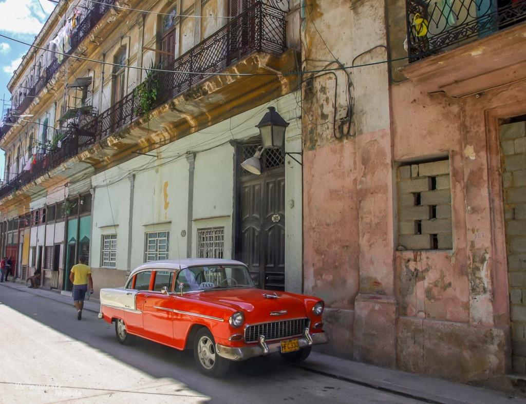 Voiture américaine La Havane