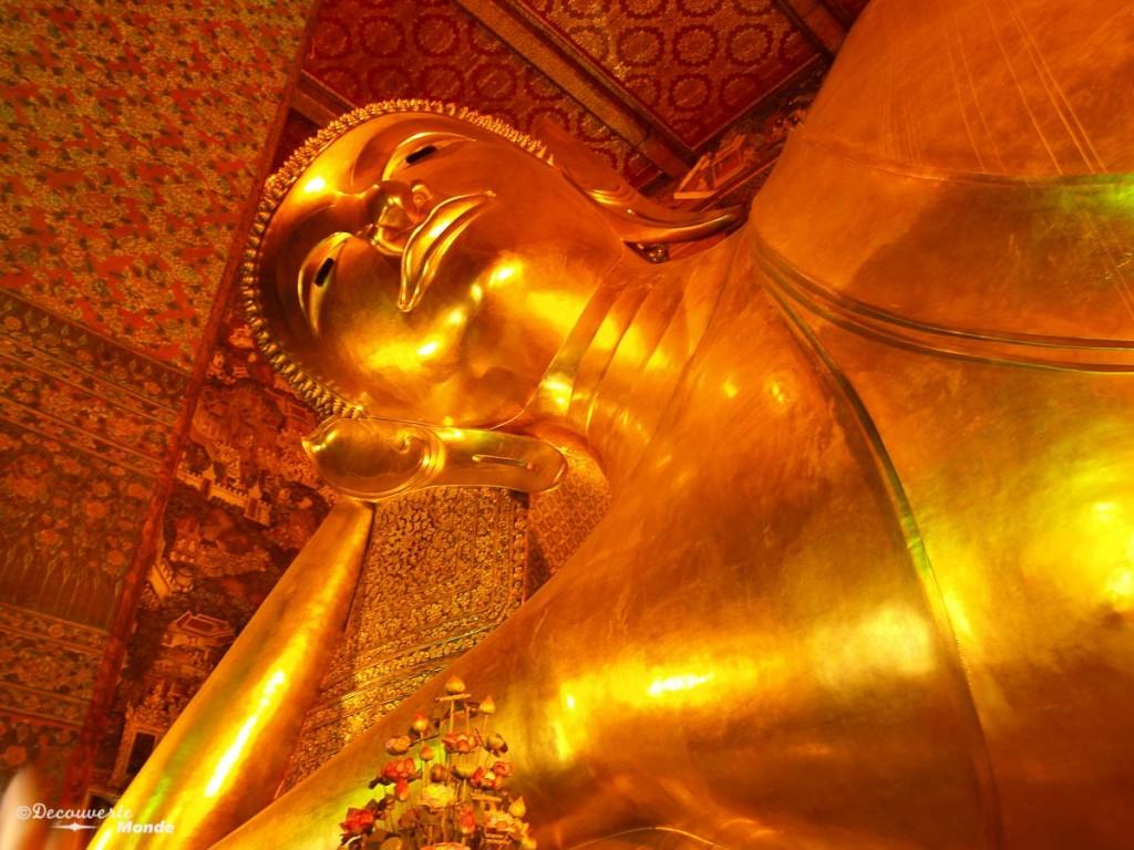 Wat Pho Bangkok visiter Thaïlande