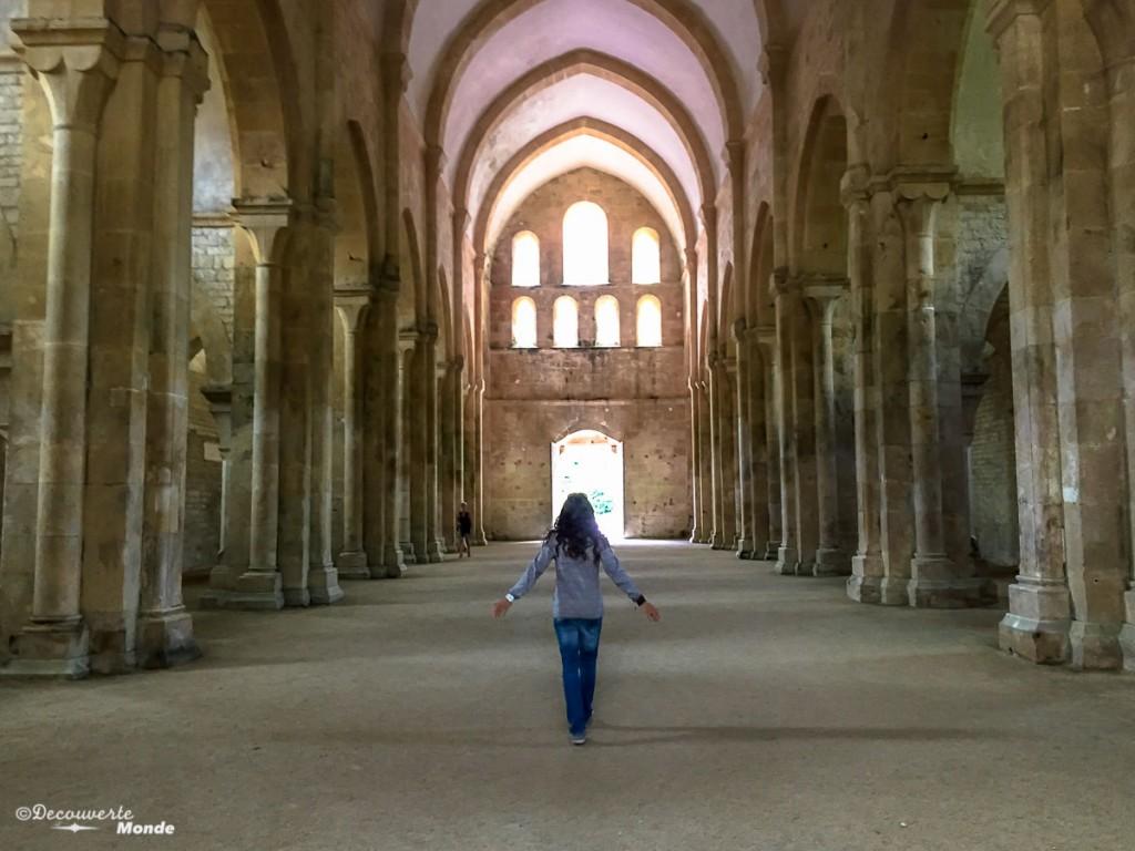église abbaye Fontenay Bourgogne