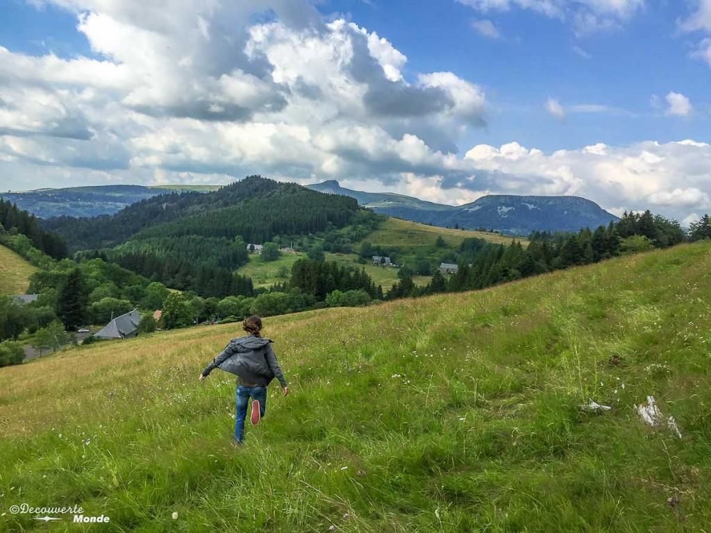 paysage Auvergne en France