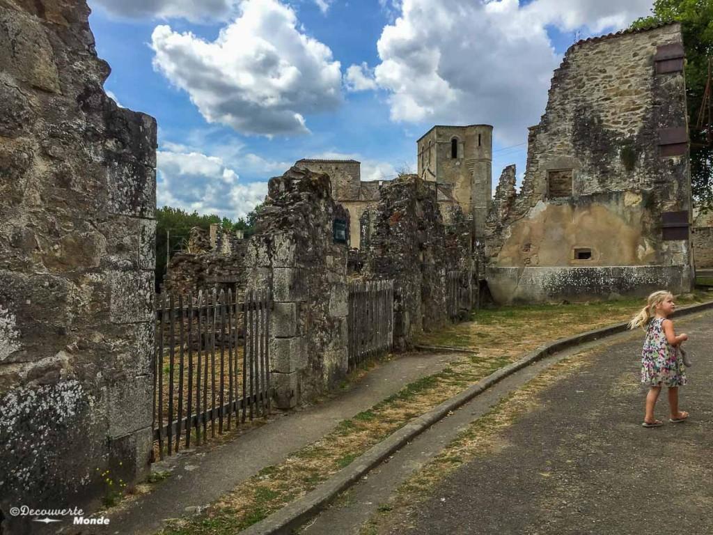 Oradour-sur-glane région du Limousin