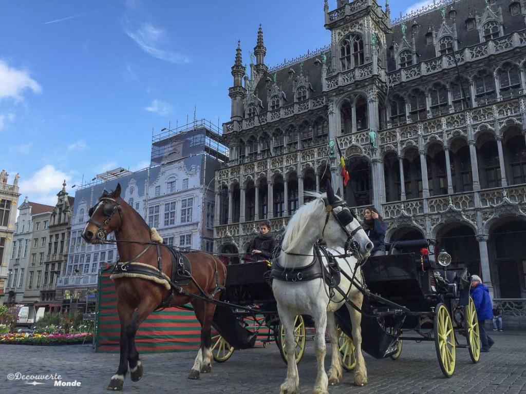 Grande-place que voir à Bruxelles