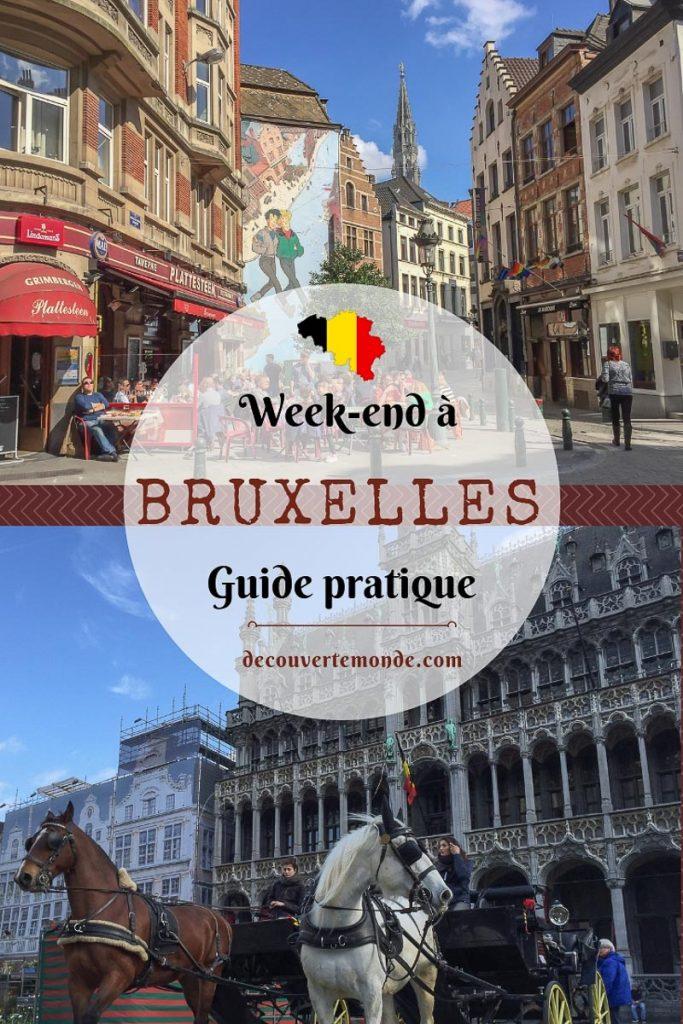 Visiter Bruxelles : Que faire et voir dans cette ville le temps d'un week-end | Que faire à Bruxelles et que voir | Quoi voir à Bruxelles et quoi faire | Que visiter à Bruxelles | Activités à Bruxelles | Où dormir à Bruxelles | #Bruxelles #europe #belgique #citytrip #voyage