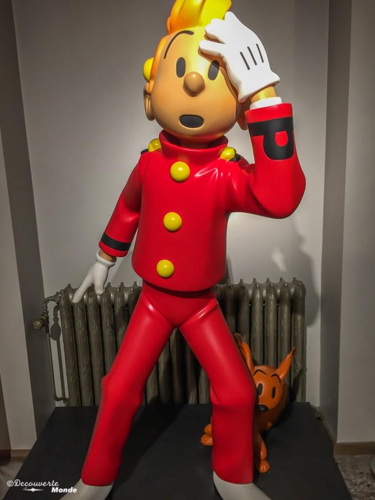 visiter Bruxelles Musée BD