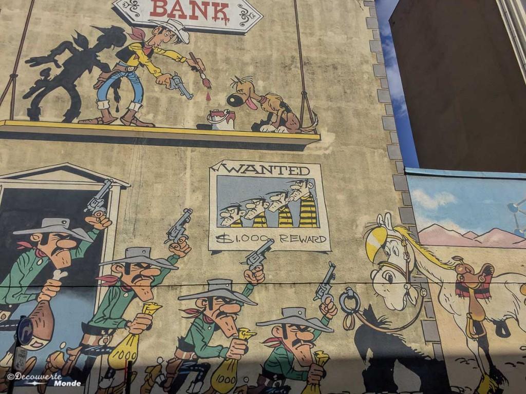 visiter Bruxelles parcours BD