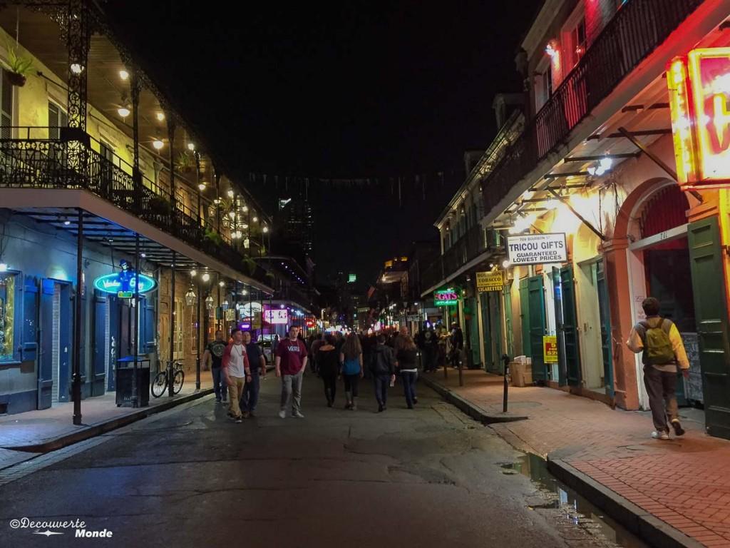 bourbon street Nouvelle-Orleans