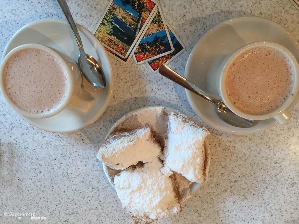 Café du monde Nouvelle-Orleans