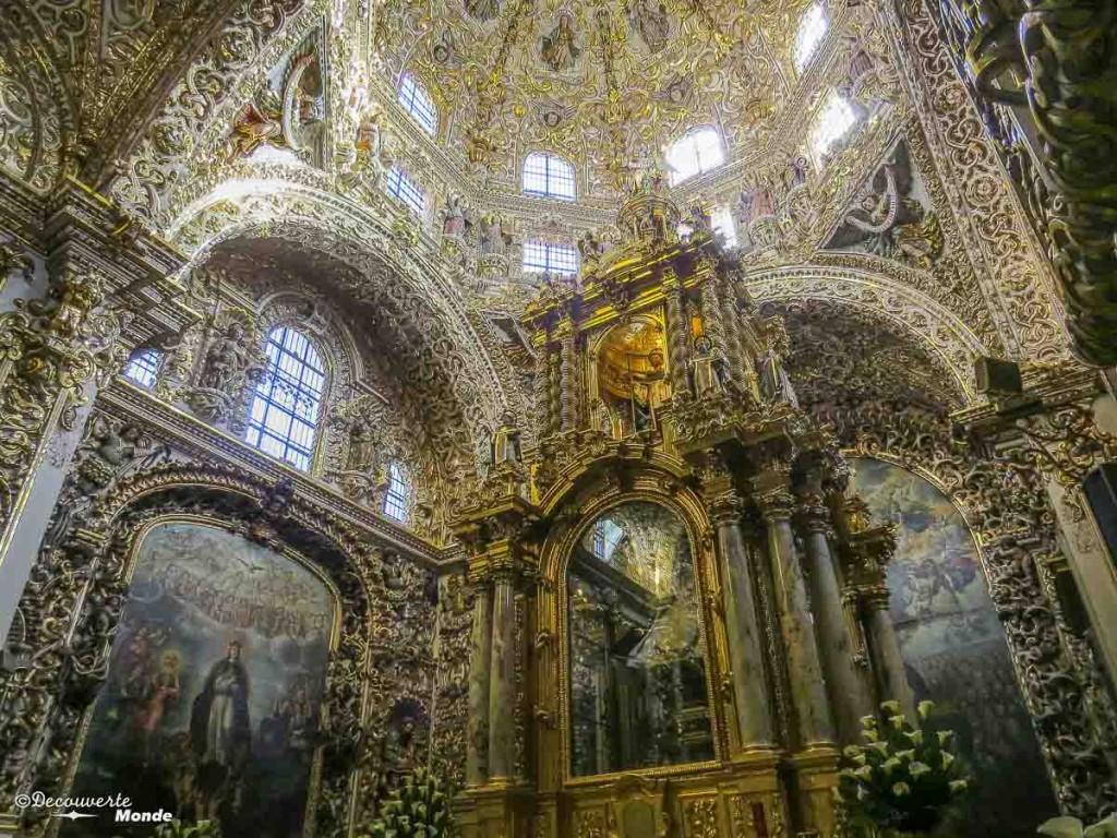 capillo del rosario puebla mexique