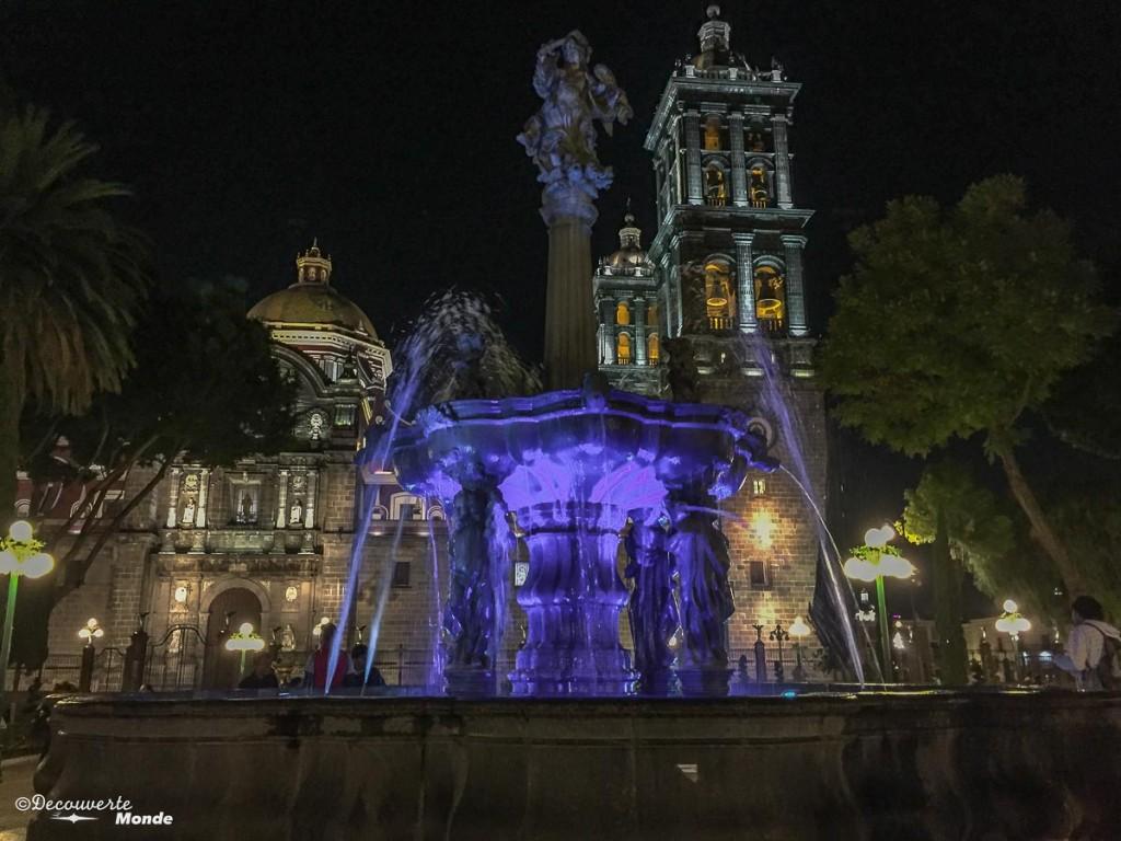 cathédrale ville de puebla au mexique