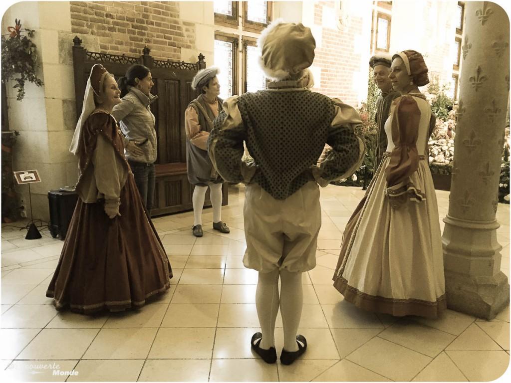 danse renaissance château amboise