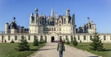 les châteaux de la loire chambord