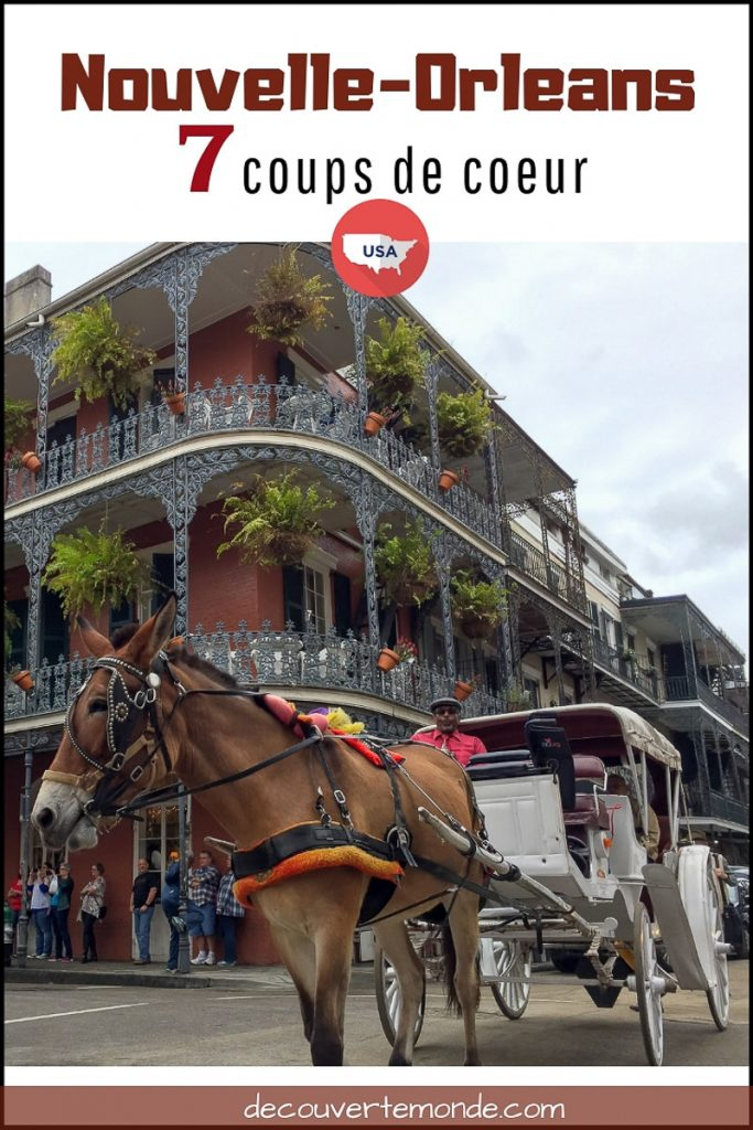 Visiter la Nouvelle-Orleans : Que faire et voir en 7 coups de coeur | Que faire en Nouvelle-Orleans et que voir | Quoi voir en Nouvelle-Orleans et quoi faire | Que visiter en Nouvelle-Orleans | Activités en Nouvelle-Orleans | Où dormir en Nouvelle-Orleans | visiter Nouvelle-Orleans | #NouvelleOrleans #amerique #usa #etatsunis #louisiane #citytrip #roadtrip #voyage