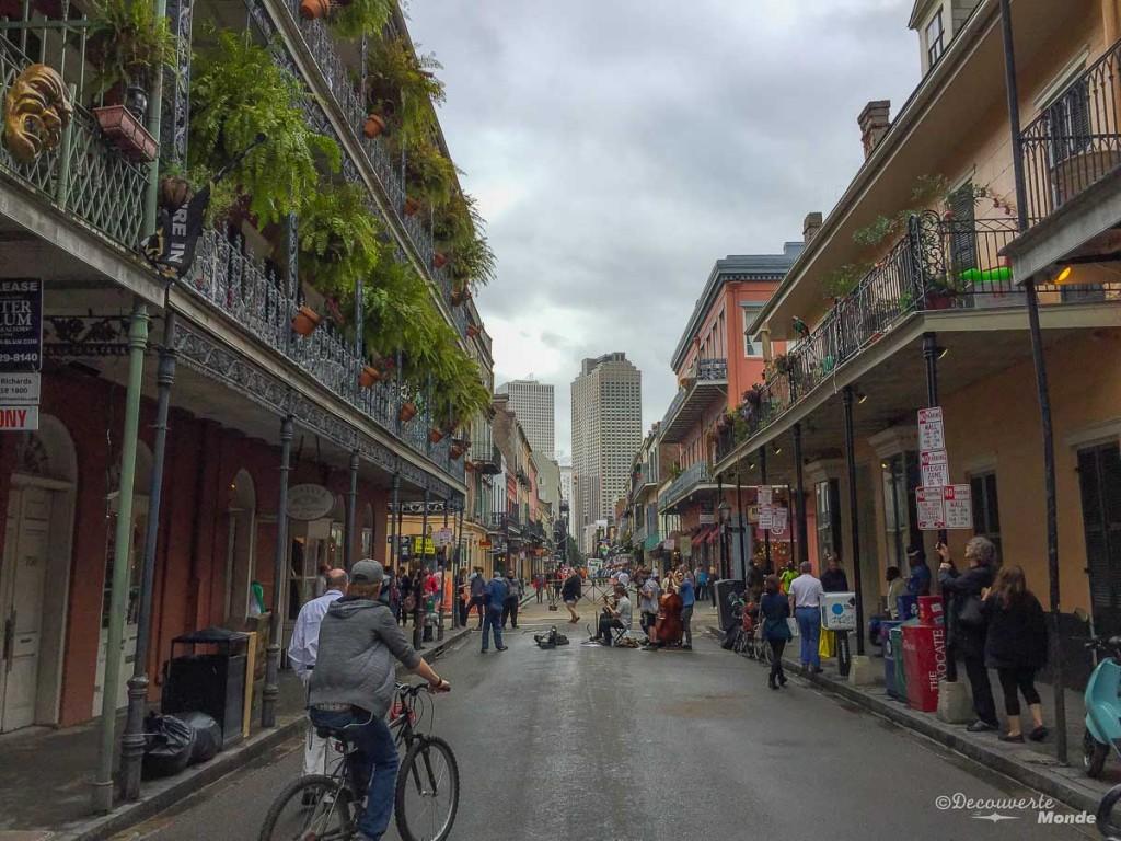 que voir Nouvelle-Orleans Carré francais