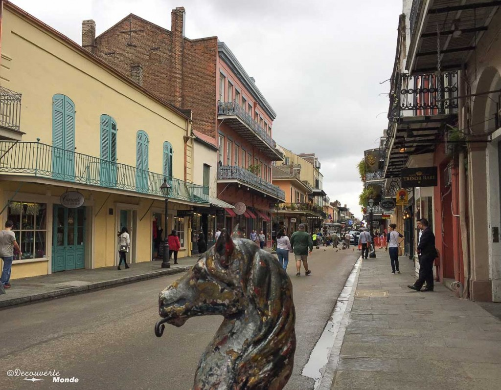 Royal street visiter la Nouvelle-Orleans