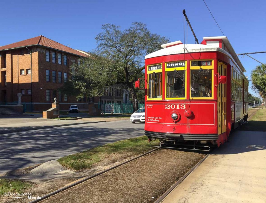 streetcar Nouvelle-Orleans