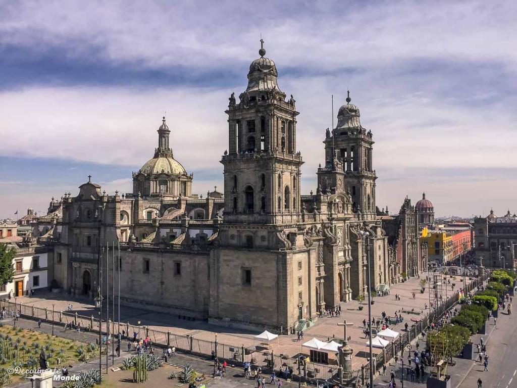 cathédrale ville de mexico DF