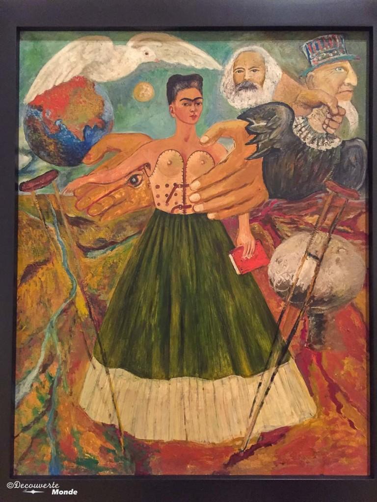 frida kahlo ville de mexico DF