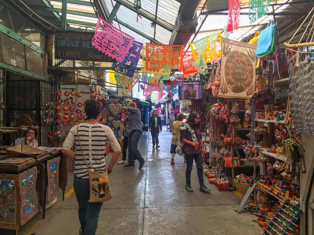 marché artisanat mexico city