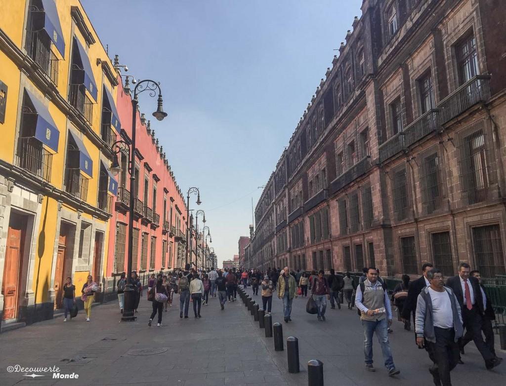 mexico city centre historique