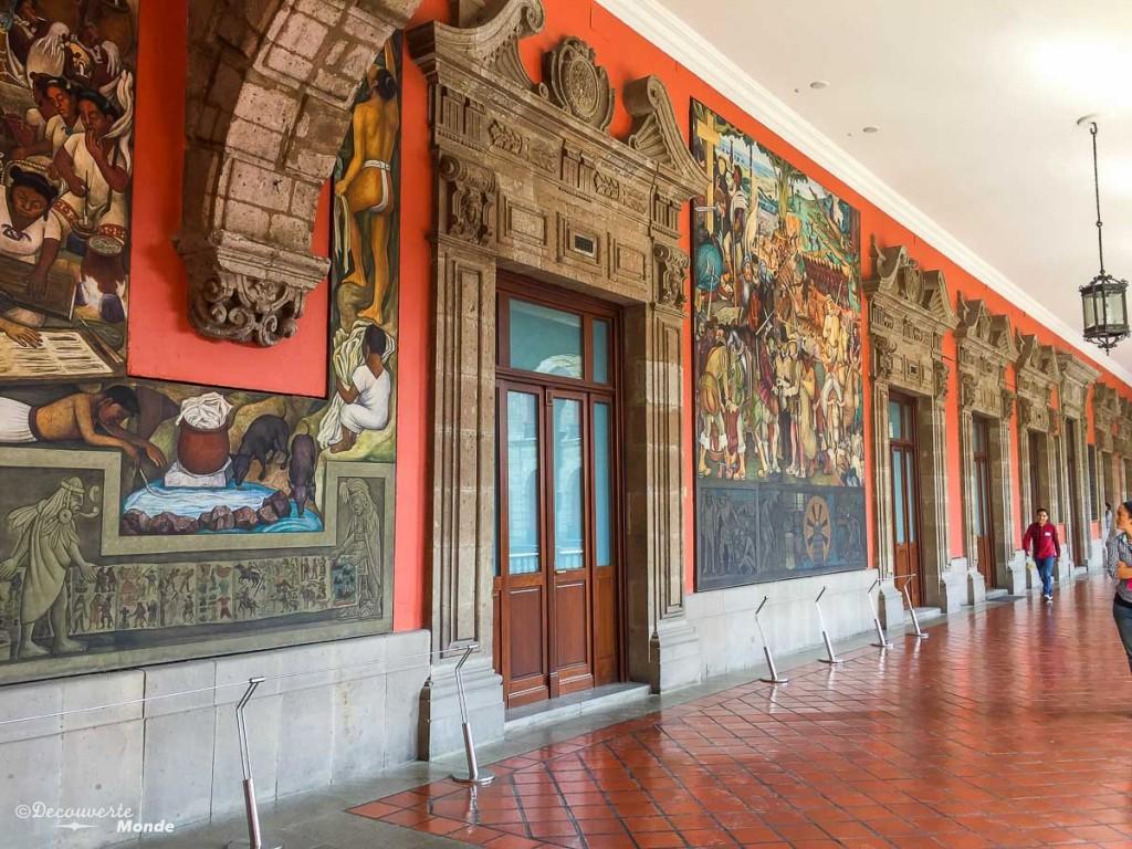 palacio national Mexico city