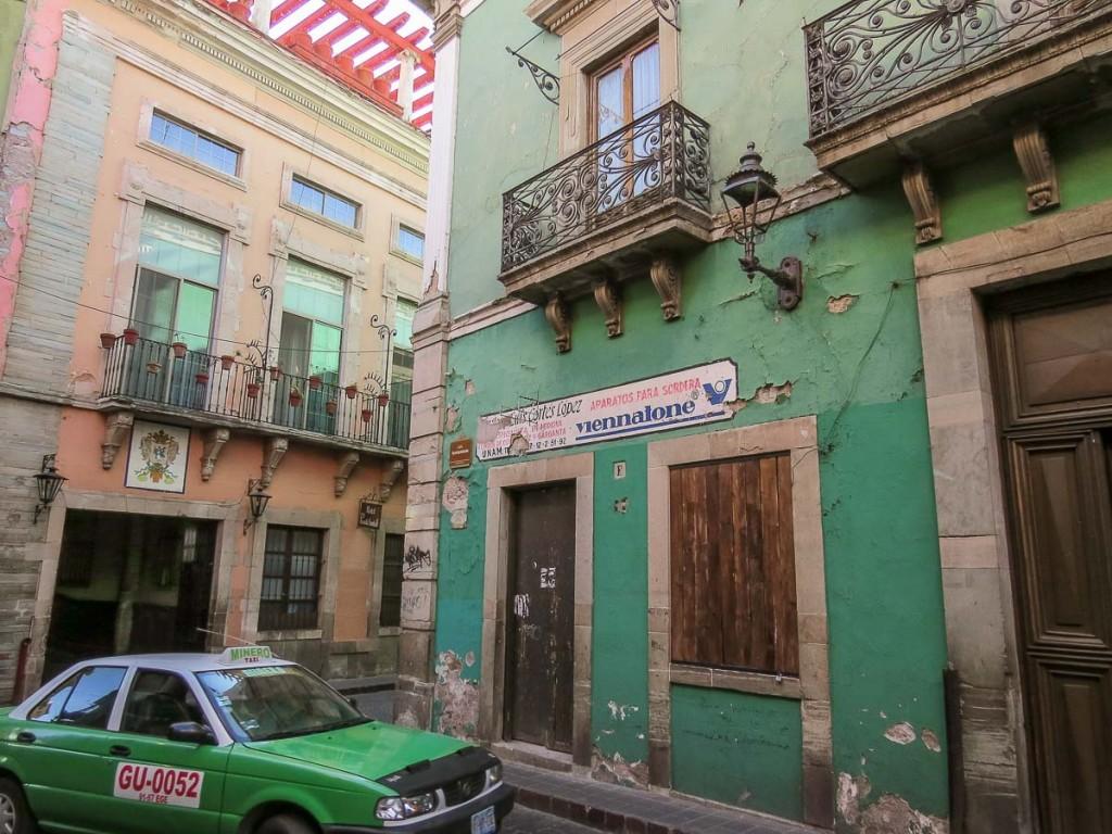 rue guanuajuato mexique