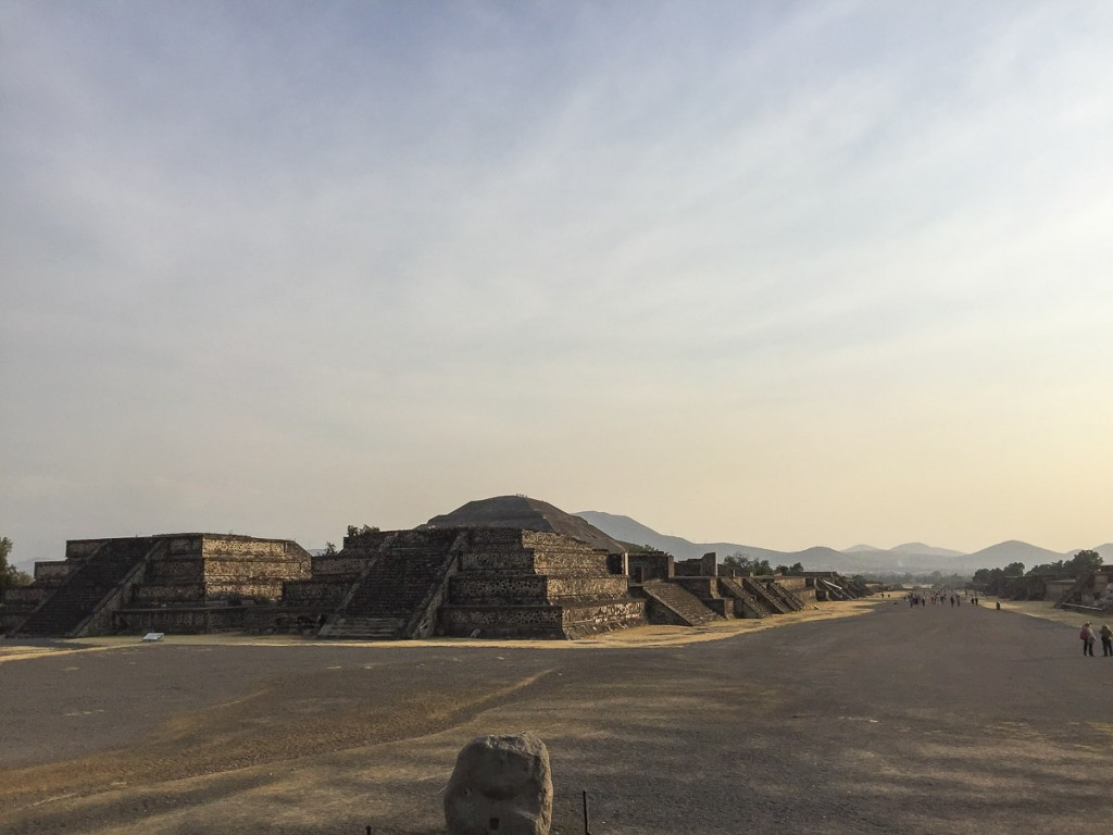 site archéologique teotihuacan mexique