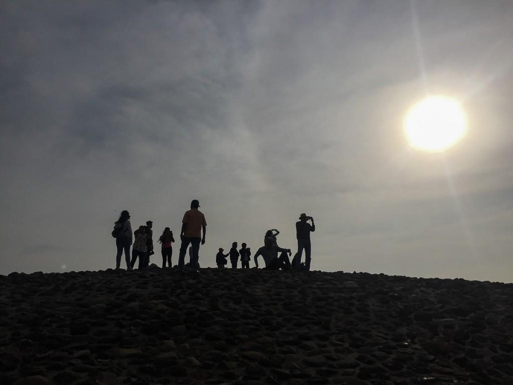 sommet pyramide teotihuacan