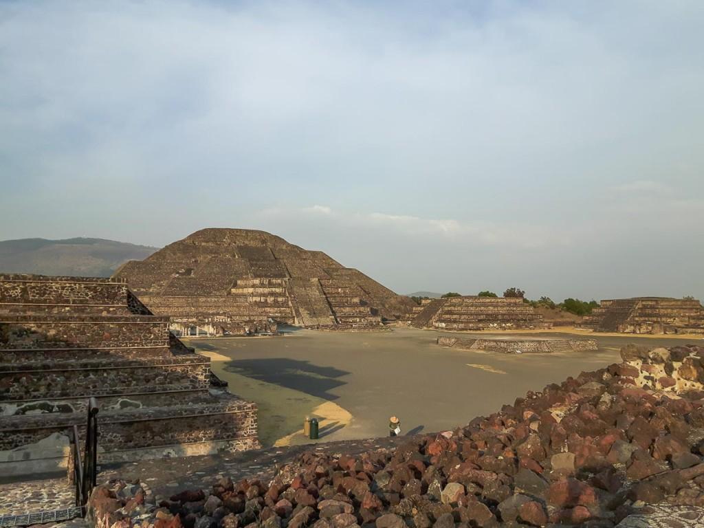 teotihuacan pyramide de la lune