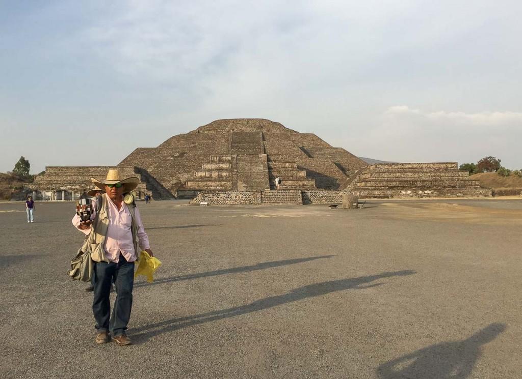 vendeurs teotihuacan