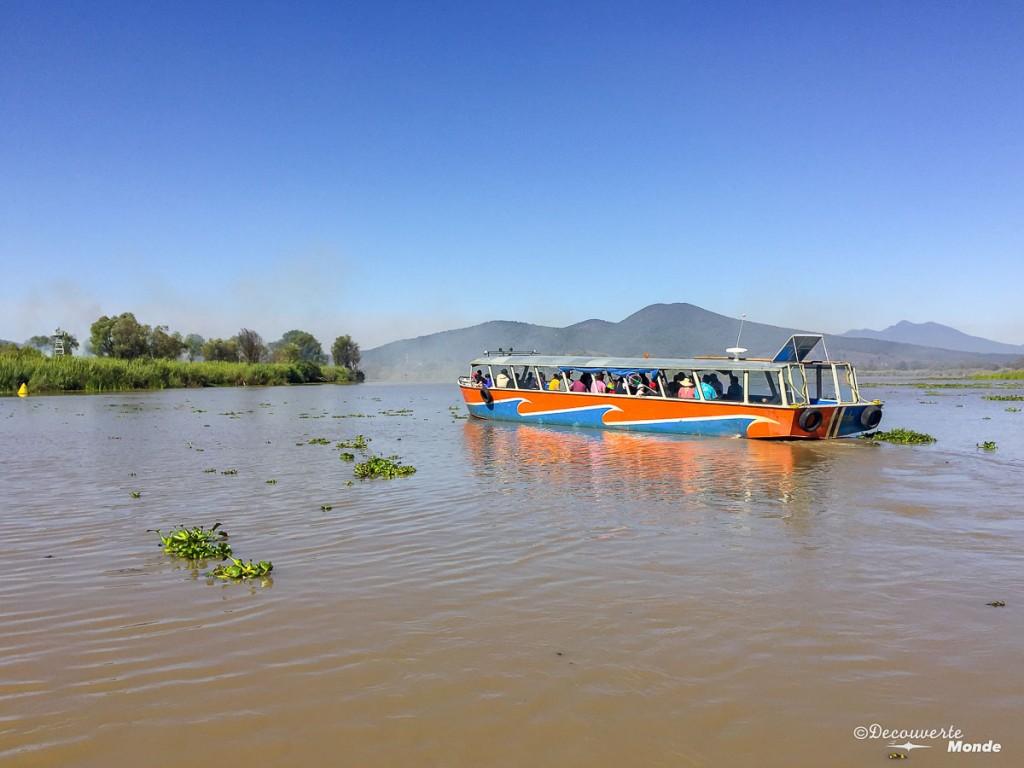 bateau lac patzcuaro
