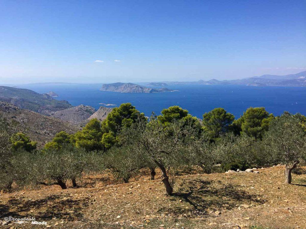 mer méditerranée hydra grèce