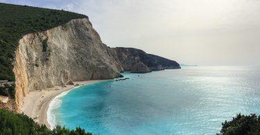 mer méditerranée plage lefkada