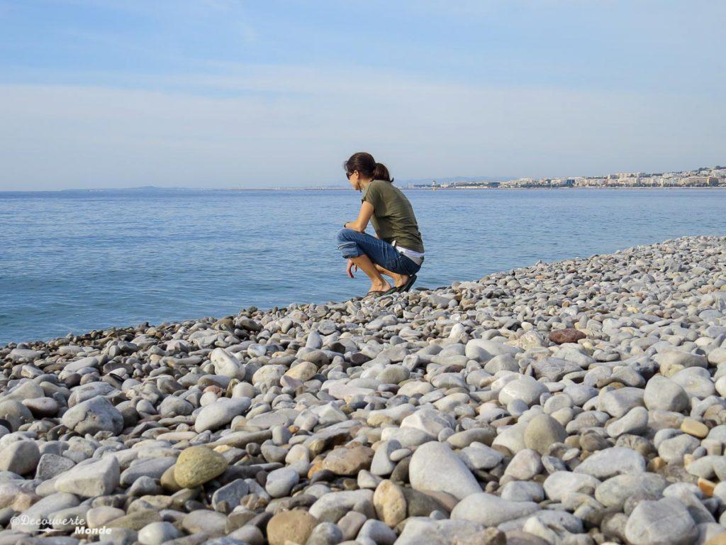 mer méditerranée plage nice